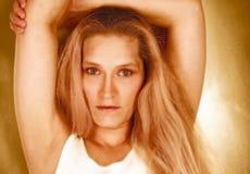 beauty blond Στοκ Εικόνες
