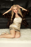 Beauty blond Royalty Free Stock Photos