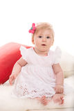 Beauty blond baby girl Royalty Free Stock Photo