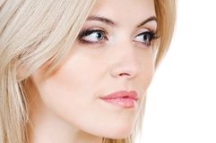 Beauty blond Stock Image