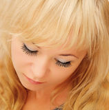 Beauty blond woman Royalty Free Stock Photos