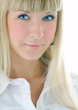Beauty blonde girl portrait Royalty Free Stock Images