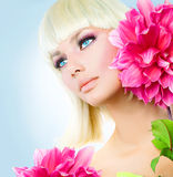 Beauty Blonde Girl Royalty Free Stock Images