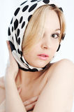Beauty Blonde In Soft Colors Stock Photo