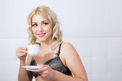 Beauty blonde woman Stock Photo
