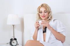 Beauty blonde woman Stock Photos