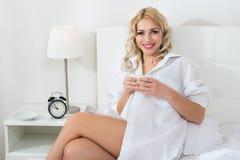 Beauty blonde woman Stock Image