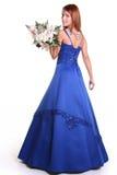 Beauty in blue Stock Photo