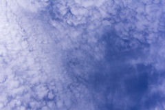 Beauty blue sky with clouds, background Royalty Free Stock Photo