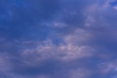 Beauty blue sky with clouds, Texture and background Stock Images