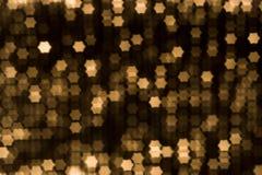 Beauty blur yellow stars Stock Photos