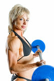 Beauty bodybuilder Stock Photo