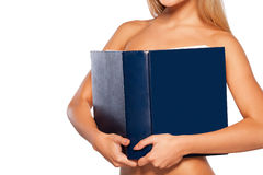 Beauty with book. Royalty Free Stock Photos