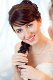 Beauty with braid Stock Photography