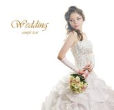 Beauty bride Stock Image