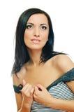 Beauty brunette Stock Photography