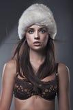 Beauty brunette Royalty Free Stock Photos