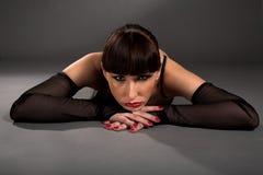 Beauty brunette Stock Image