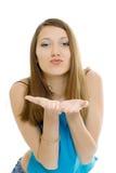 Beauty brunette girl Stock Photos