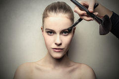 Beauty brushes Royalty Free Stock Photography