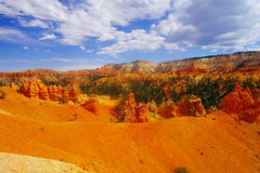 The beauty of Bryce Canyon. Royalty Free Stock Images