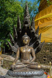 Beauty Buddha sculpture. In the temple Stock Photography