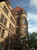 Beauty In A Building. Downtown Cinncinatti police headquarters Royalty Free Stock Photography