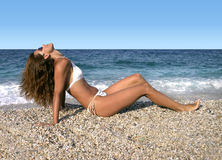Free Beauty By The Sea Stock Photos - 210443