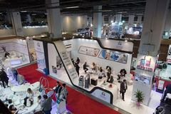Beauty and Care exhibition 2015 Stock Image