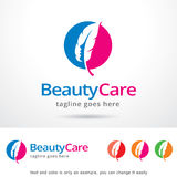 Beauty Care Logo Template Design Vector Royalty Free Stock Images