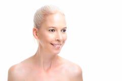 Beauty Care Model Royalty Free Stock Photo