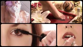 Beauty care, montage