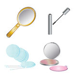 Beauty care objects Stock Photos