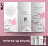 Beauty Care & Salon Brochure Stock Photography