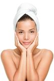 beauty care skin spa γυναίκα Στοκ εικόνα με δικαίωμα ελεύθερης χρήσης