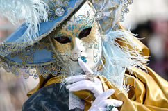 The beauty of carnival masks royalty free stock images