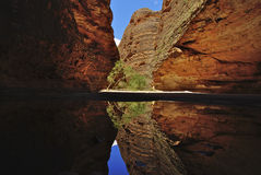 Beauty Of Cathedral Gorge Stock Images