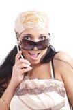 Beauty chat Royalty Free Stock Photo