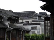 The beauty of chinese-classic elements in architecture, Wuzhen, China royalty free stock image