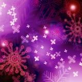 Beauty of Christmas. Artistic Christmas inspired background stock illustration