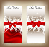 Beauty christmas card Stock Photo
