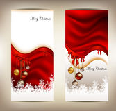 Beauty christmas card background Stock Photos