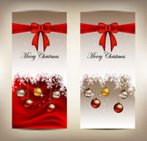 Beauty christmas card background Stock Photography