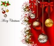 Beauty christmas card background. Vector illustration of beauty christmas card background Stock Images