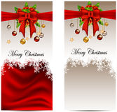 Beauty christmas card background Stock Images