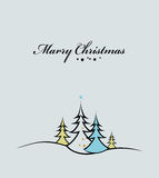 Beauty Christmas tree background Royalty Free Stock Images