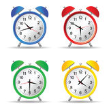 Beauty clock vector illustration Stock Photo
