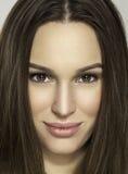 Beauty. Closeup of a beautiful girl Royalty Free Stock Photography