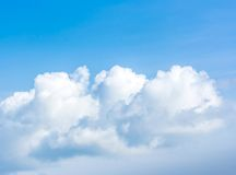 Beauty cloud Stock Images