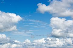 Beauty clouds and blue sky Royalty Free Stock Image
